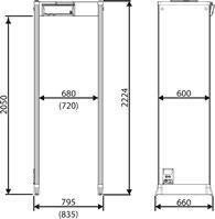 арочный металлодетектор CEIA SMD600