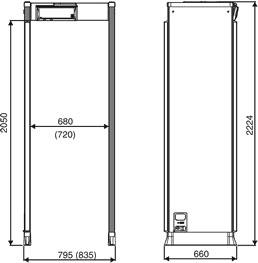 арочный металлодетектор CEIA SMD600Multizone